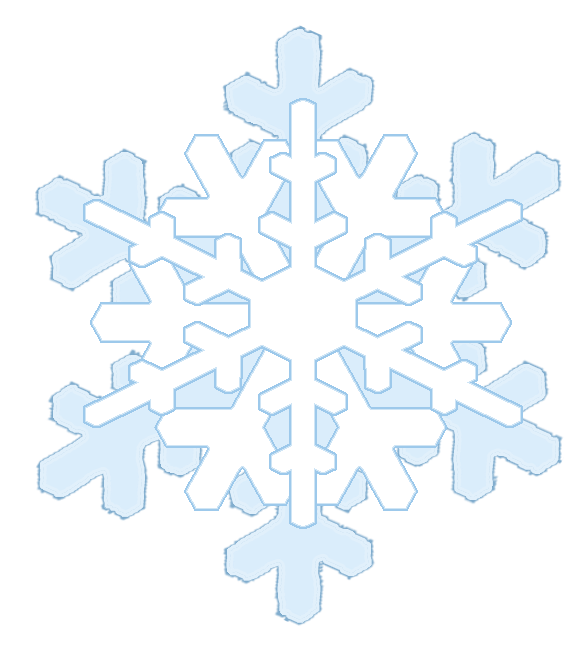 Snowflake on kids nose clipart clipart freeuse stock Winter Clipart clipart freeuse stock