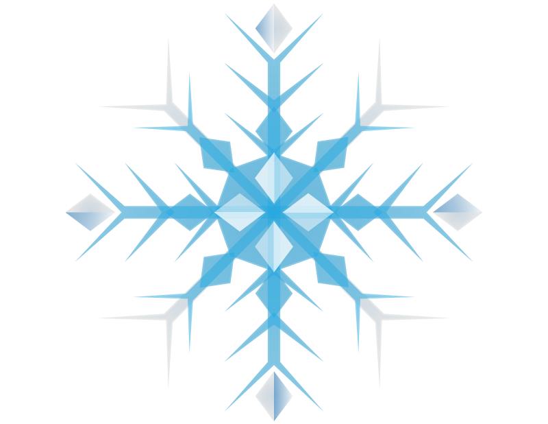 Blue snowflake clipart transparent background clip 28+ Collection of Snowflake Clipart Free | High quality, free ... clip