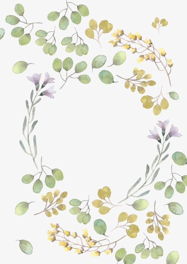 Beautiful watercolor clipart svg transparent download Beautiful Watercolor Flower Leaves, Watercolor Clipart, Flower ... svg transparent download