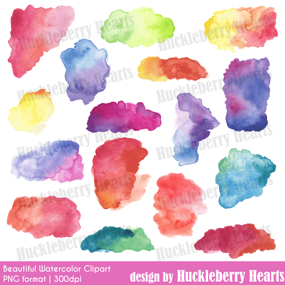 Beautiful watercolor clipart svg free library Beautiful Watercolor Clipart svg free library