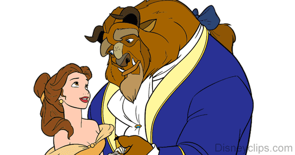 Beauty and the beast clipart images image royalty free Beauty and the Beast Clip Art | Disney Clip Art Galore image royalty free