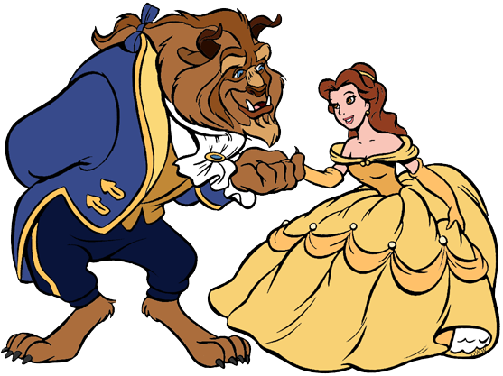Beauty and beast clipart jpg free Belle and the Beast Clip Art | Disney Clip Art Galore jpg free
