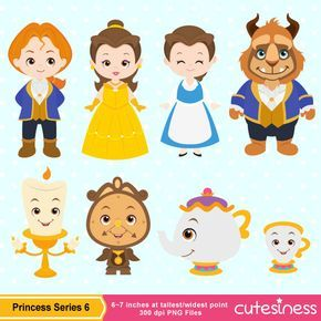 Beauty and beast heads clipart png black and white download Beauty beast clipart | stencils | Beauty, the beast, Beauty, the ... png black and white download