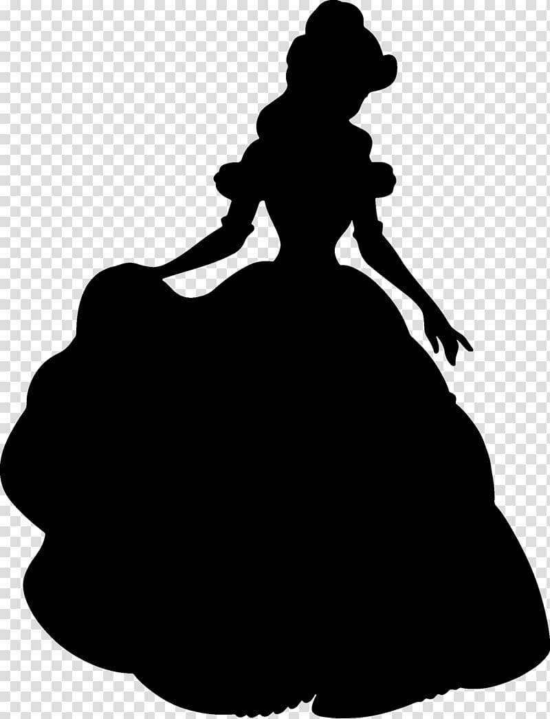 Beauty and the beast chip clipart black and white silhousette svg library download Belle Beast Disney Princess Silhouette Minnie Mouse, beauty and the ... svg library download