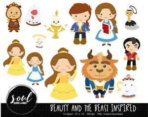 Beauty and the beast clipart -disney picture freeuse library Beauty And The Beast Clipart 3 - 300 X 239 - Making-The-Web.com picture freeuse library