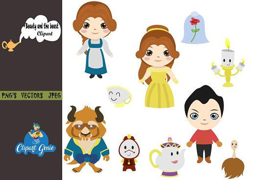 Beauty and the beast clipart -disney picture black and white download Pin by Clipartgenie on ClipartGenie Popular cliparts   Beauty, Image ... picture black and white download