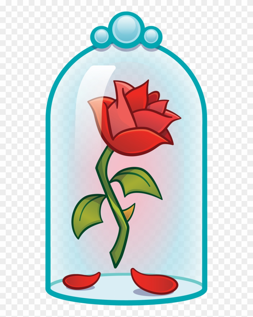 Beauty and the beast flower clipart banner transparent library Next - Cartoon Beauty And The Beast Flower Clipart (#3508239 ... banner transparent library