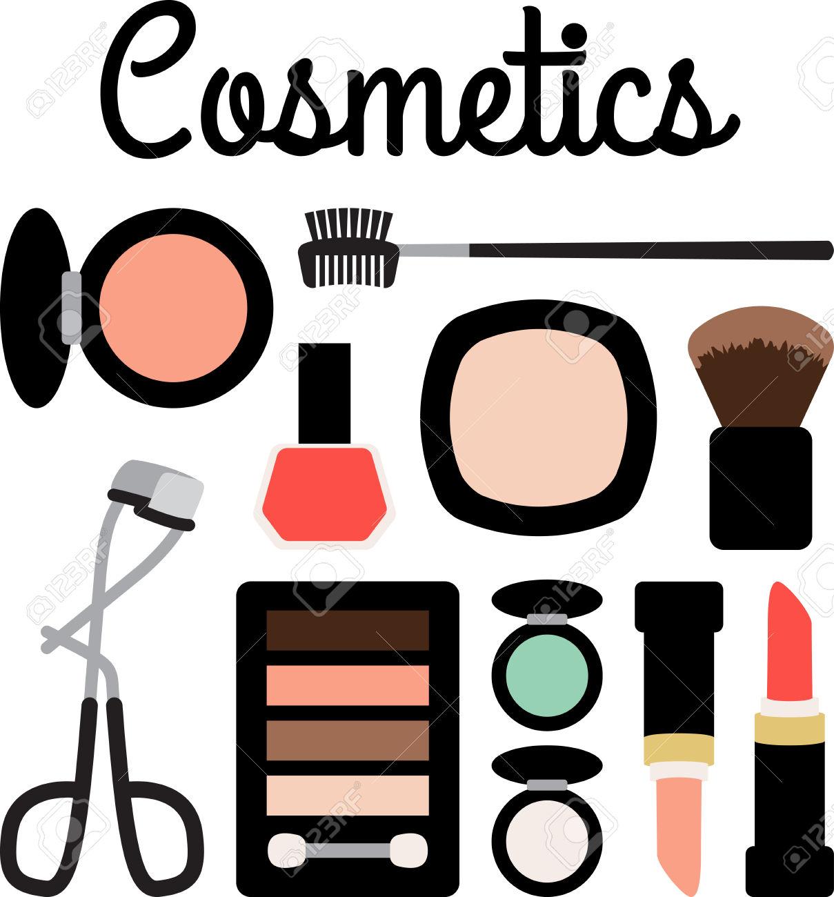 Beauty cosmetics clipart clip art free stock Cosmetics Clipart | Free download best Cosmetics Clipart on ... clip art free stock