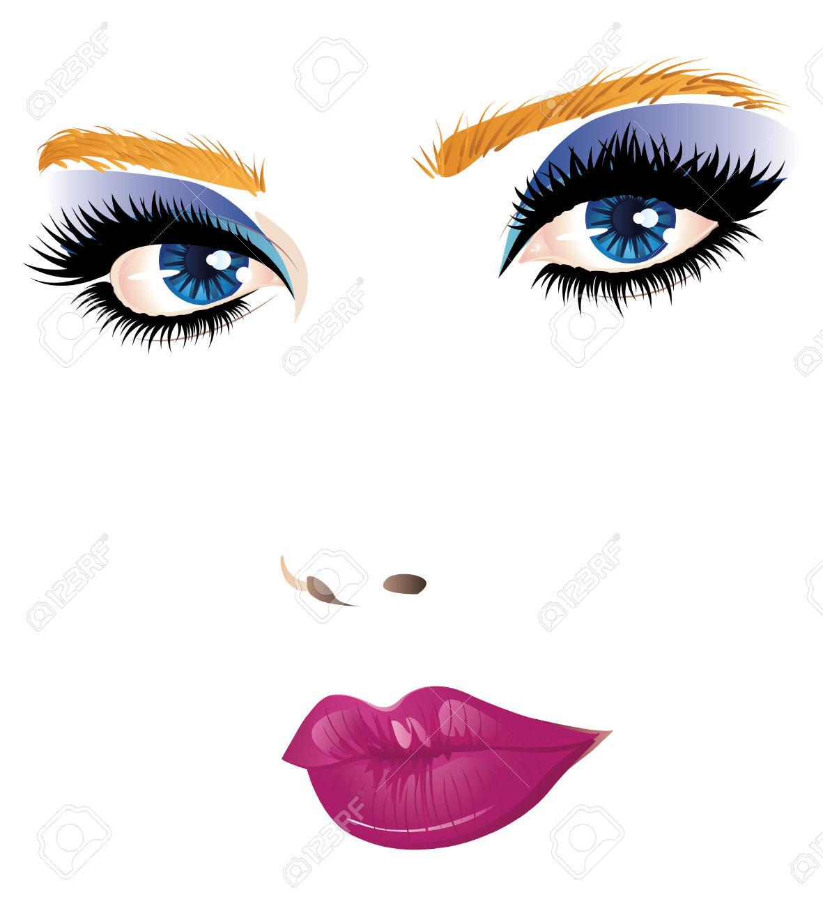 Beauty girl clipart jpg library model makeup: Beauty girl face | Clipart Panda - Free Clipart Images jpg library