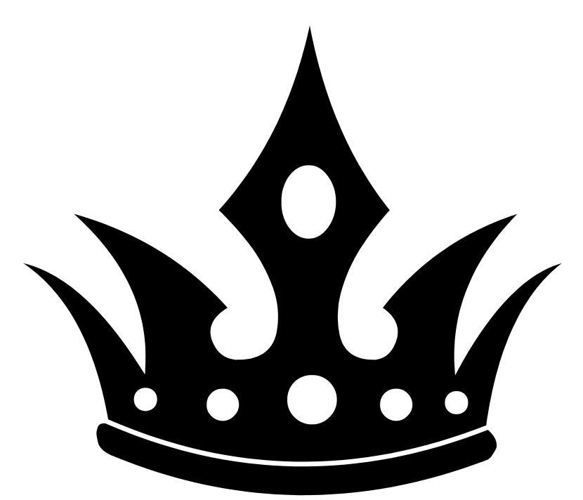 Crown clipart no background tiny princess svg freeuse Crown Clipart Black And White - 61 cliparts svg freeuse