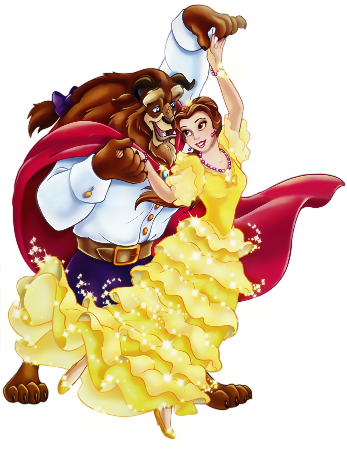 Beauty school clipart picture royalty free library Beauty and the Beast PNG Picture Clipart | Gallery Yopriceville ... picture royalty free library