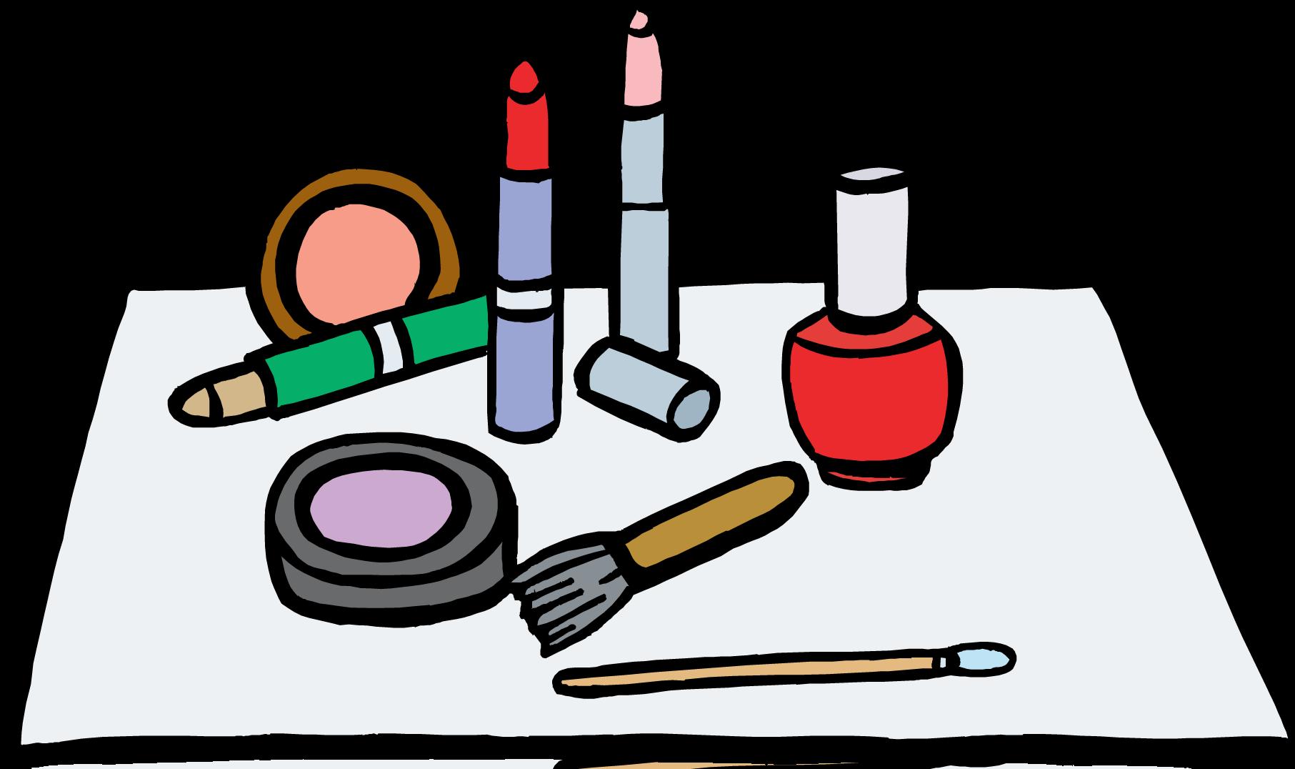 Beauty school clipart clip download Cartoon Makeup Clip Art | Trends For > Putting On Makeup Clip Art ... clip download