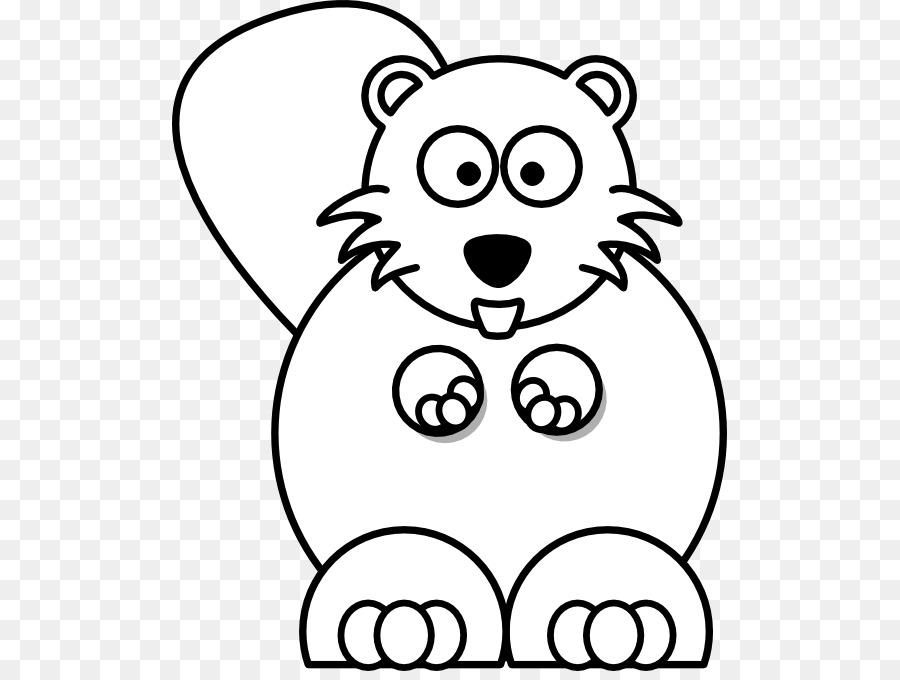 Beaver black and white clipart picture library stock Beaver clipart black and white 2 » Clipart Station picture library stock