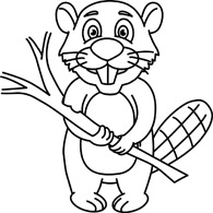 Beaver chewed wood black and white clipart image transparent library Search Results for beaver - Clip Art - Pictures - Graphics ... image transparent library