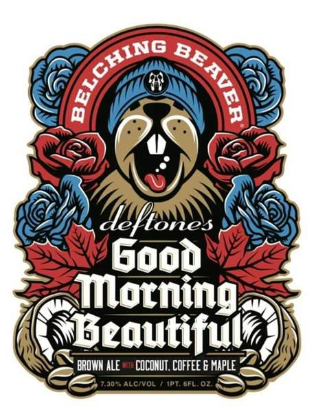 Beaver clipart with a beer banner free download Belching Beaver Deftones Good Morning Beautiful 22oz #3 banner free download