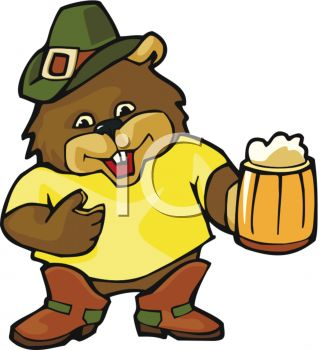 Beaver clipart with a beer png royalty free stock Pinterest png royalty free stock