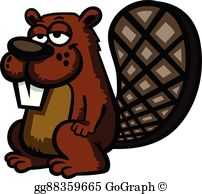 Beavertail clipart free Beaver Tail Clip Art - Royalty Free - GoGraph free
