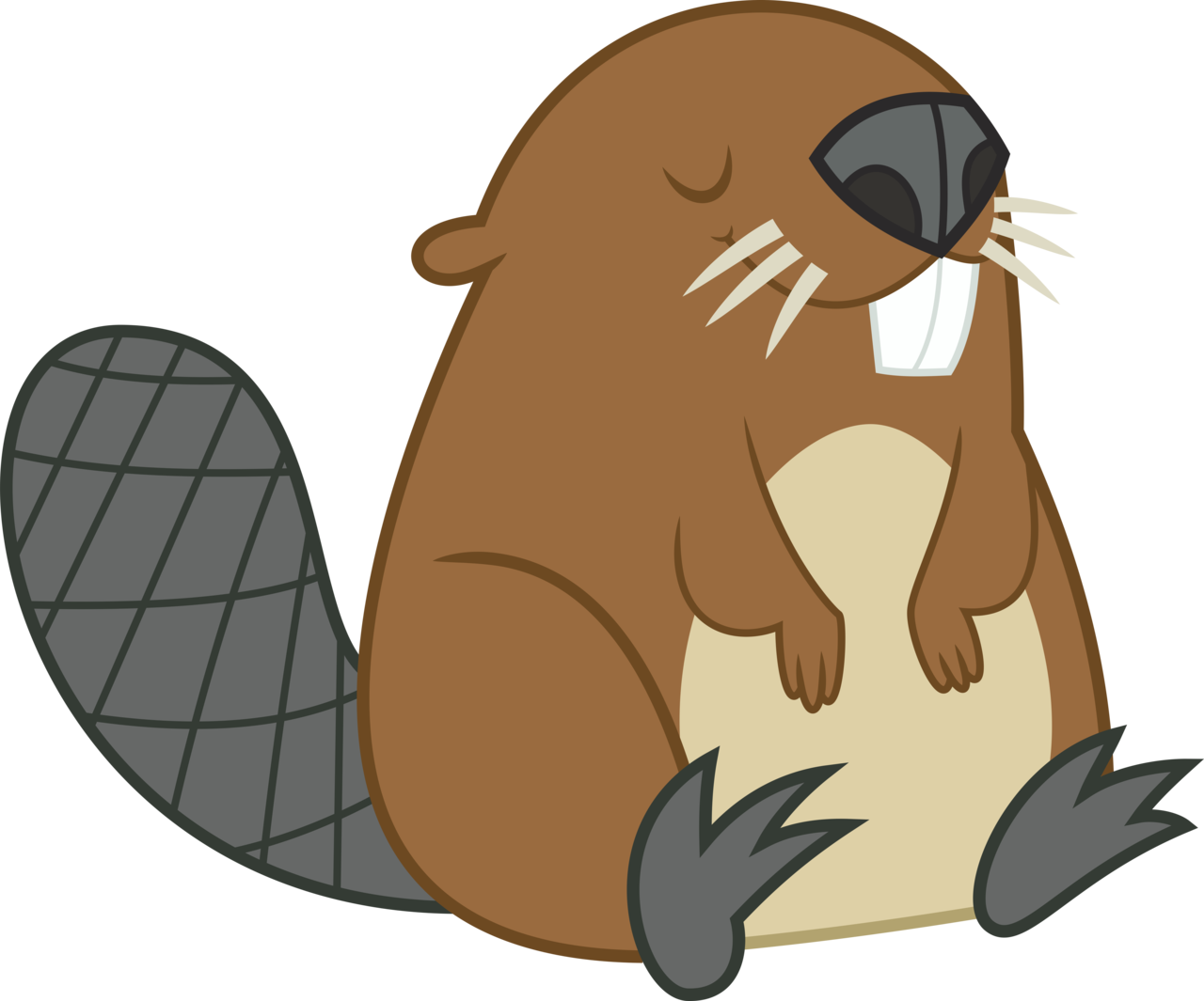 Beavertail clipart png SHJ Surfboard Model Beaver Tail png