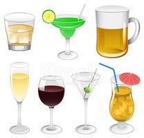 Bebidas alcoholicas clipart image transparent library Ilustraciones DE Bebidas Alcohólicas vectores en stock - Clipart.me image transparent library