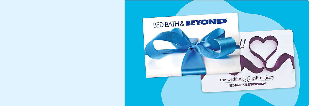 Bed bath and beyond clipart vector royalty free library Gift Cards | Bed Bath & Beyond | Bed Bath & Beyond vector royalty free library