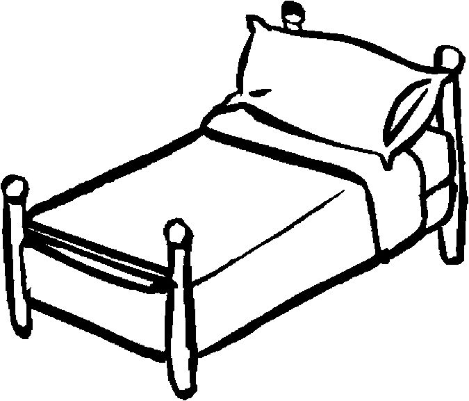 Bed clipart black white svg 98+ Bed Clipart Black And White | ClipartLook svg
