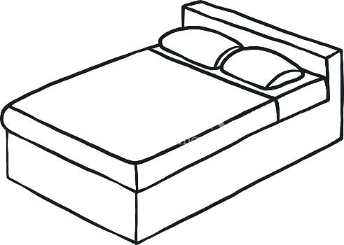 Bed clipart black white clip art transparent bedroom clipart black and white – rentrebate.info clip art transparent