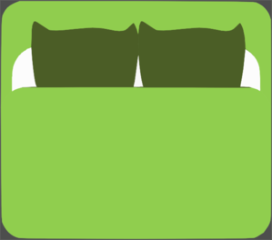 Bed clipart top view clipart library library Bed 3 Clip Art at Clker.com - vector clip art online, royalty free ... clipart library library