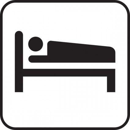 Bed logo clipart clipart transparent library Znalezione obrazy dla zapytania symbol hotel | board | Bed clipart ... clipart transparent library