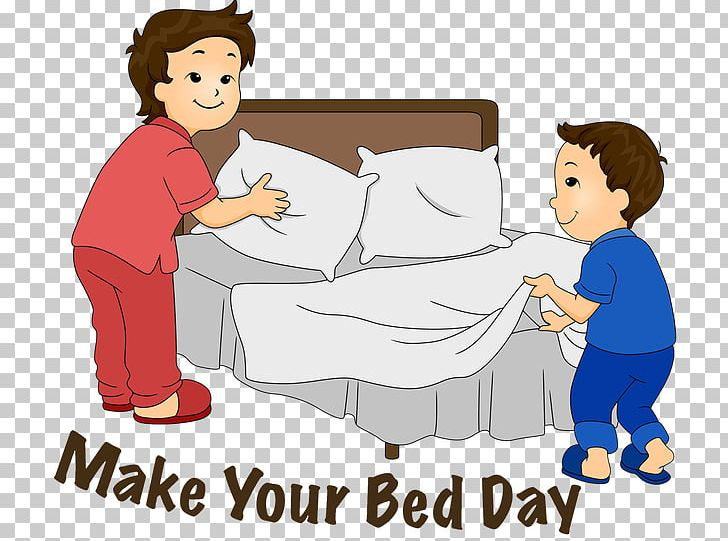 Bed making clipart graphic free download Make Your Bed Bed-making PNG, Clipart, Area, Artwork, Bed, Bedding ... graphic free download