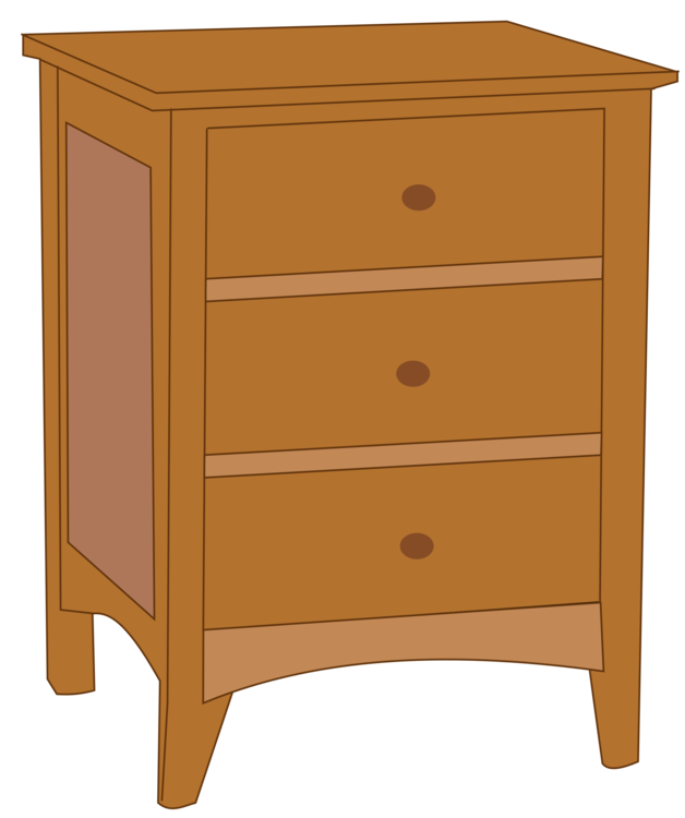 Chest of drawers clipart image library Bedside Tables Chest Of Drawers Furnitur #110657 - PNG Images - PNGio image library
