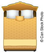 Bed top view clipart graphic transparent library Bed top view clipart 4 » Clipart Portal graphic transparent library