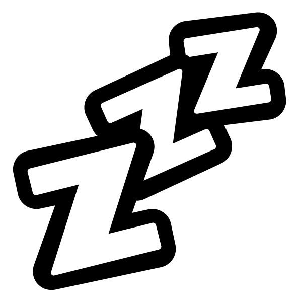 Bed with zzzz clipart clipart freeuse Zzzz Clipart Group with 60+ items clipart freeuse
