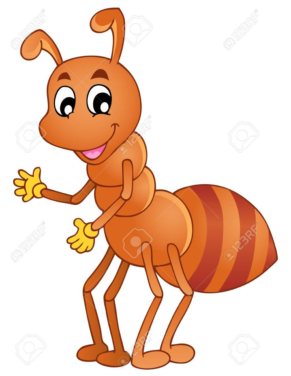Bee ant clipart banner royalty free Cartoon Ant Pictures | Free download best Cartoon Ant Pictures on ... banner royalty free