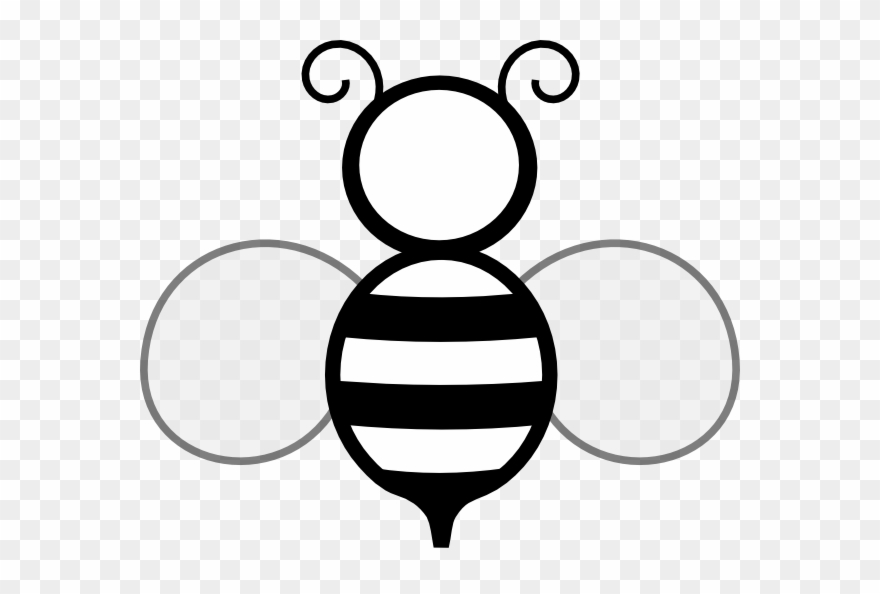 Bee black and white clipart picture royalty free Clip Art Bee Black And White - Png Download (#1797158) - PinClipart picture royalty free