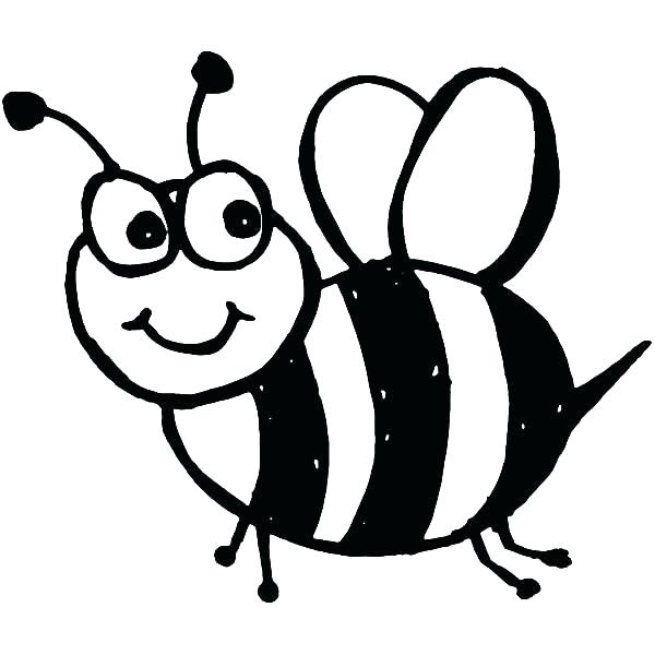 Bee clipart black and white picture Bumble Bee Clipart Black And White | Free download best Bumble Bee ... picture