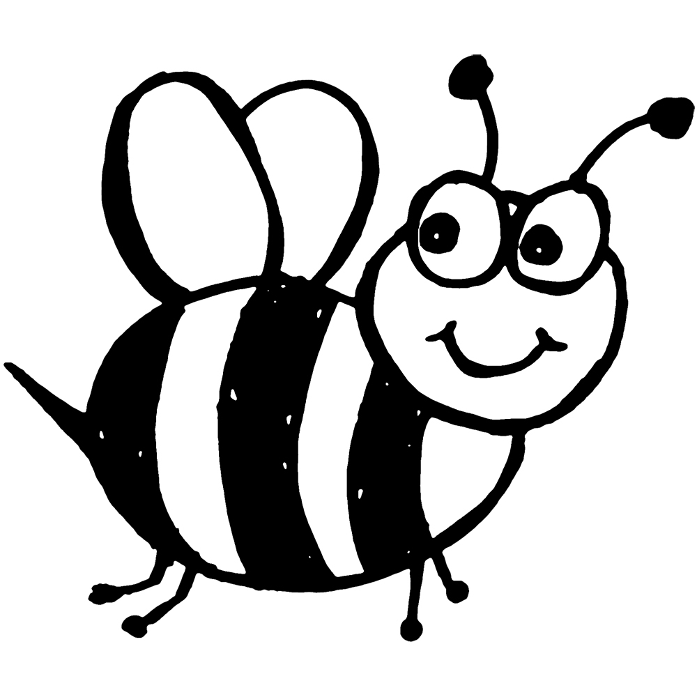 Black and white clipart bees svg black and white stock Bee clipart black and white Unique Halloween bee clipart black and ... svg black and white stock