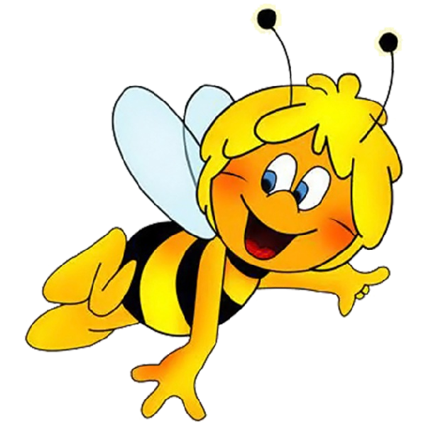 Halloween bumblee clipart transparent library Maya The Bee Cartoon Clip Art Images Are Free To Copy For Your Own ... transparent library