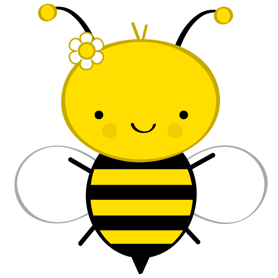 Flower with bee clipart image royalty free Abelhinhas - Minus | X-Láminas Kids: Insects | Pinterest | Bees ... image royalty free
