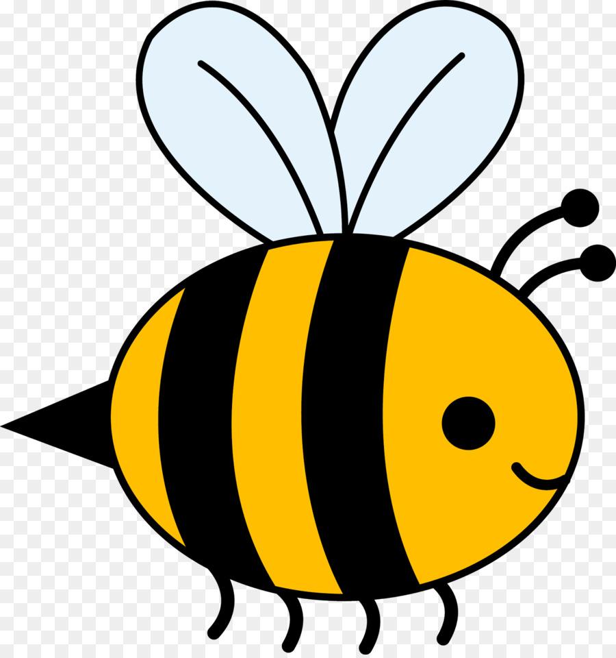 Bee cartoon clipart clipart transparent stock Bee Cartoon clipart - Bee, Ladybird, transparent clip art clipart transparent stock