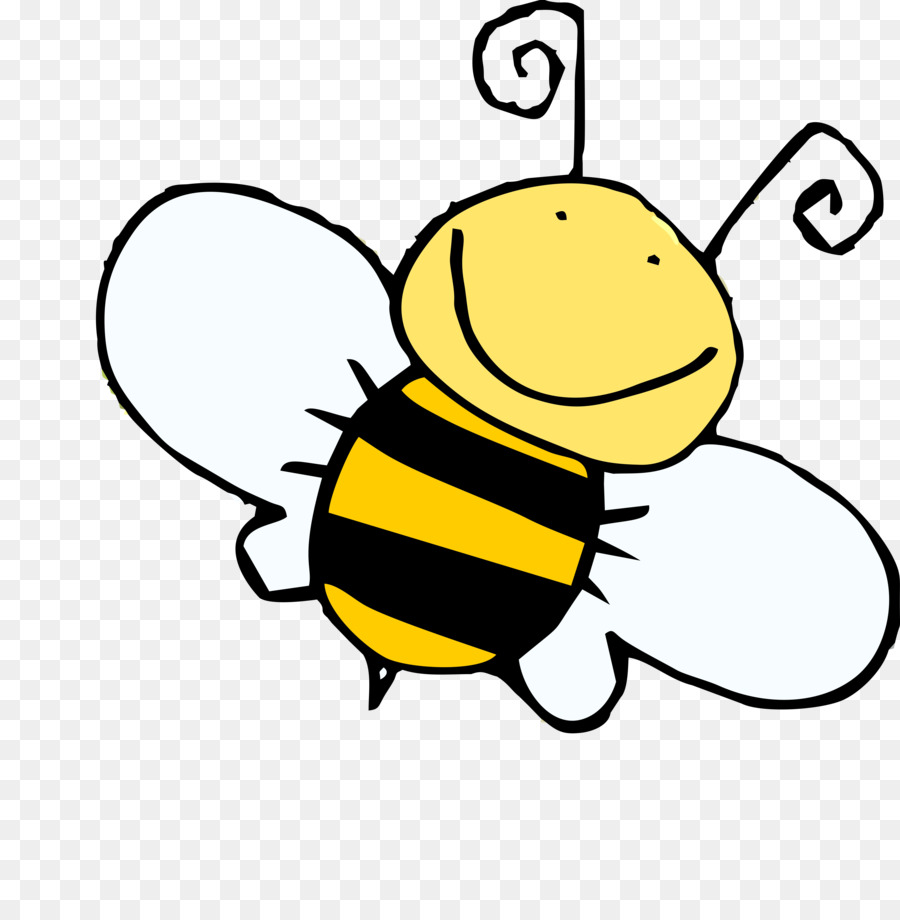 Bee cartoon clipart vector library library Bee Cartoon png download - 900*909 - Free Transparent Bumblebee png ... vector library library