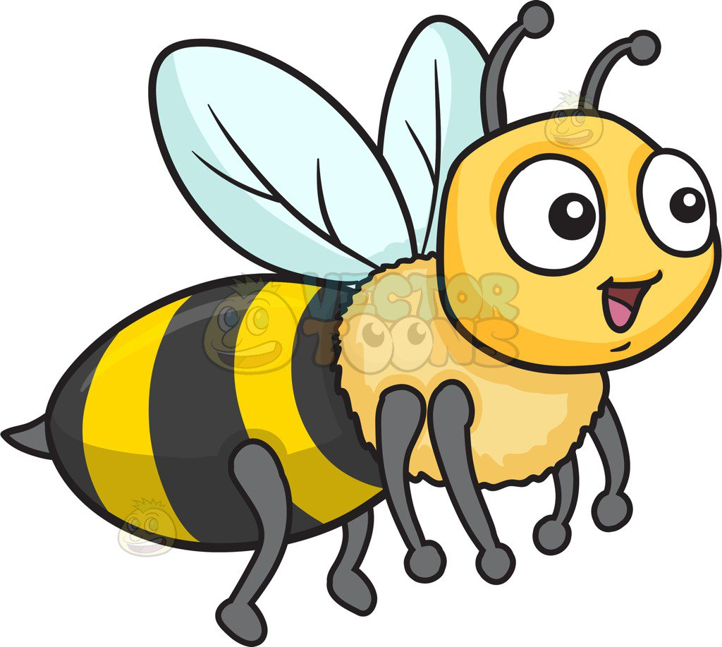 Bee cartoon clipart svg library download Bee Images Cartoon | Free download best Bee Images Cartoon on ... svg library download
