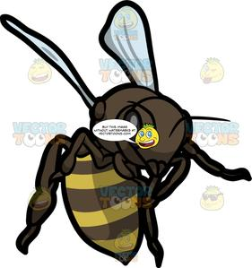 Bee clipart active clip black and white An Active Bee clip black and white