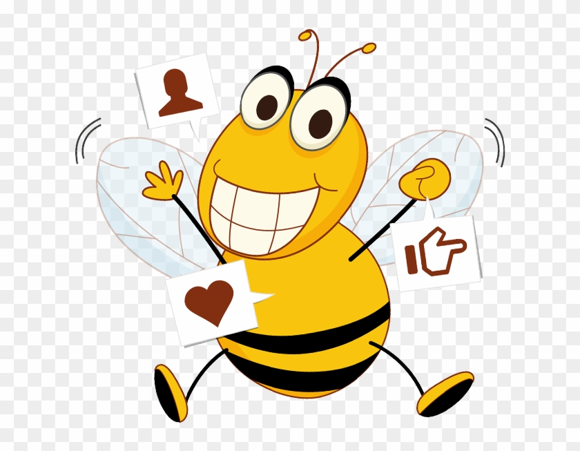 Bee clipart active clipart download Bee Active, HD Png Download - 633x578(#4987164) - PngFind clipart download