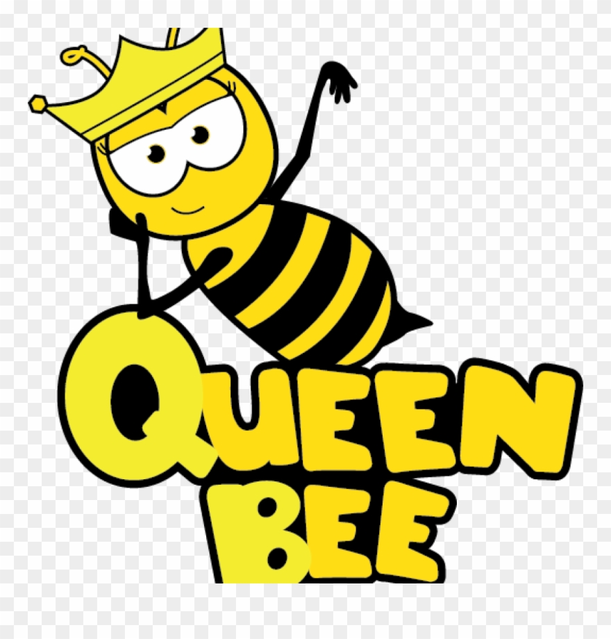 Bee clipart active clip black and white stock Bee Images Clip Art Free Bee Clipart School Clipart - Cartoon Queen ... clip black and white stock