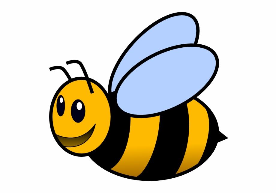Bee clipart active svg transparent library Bee Clipart Png - Bee Clipart With Transparent Background {#477370 ... svg transparent library