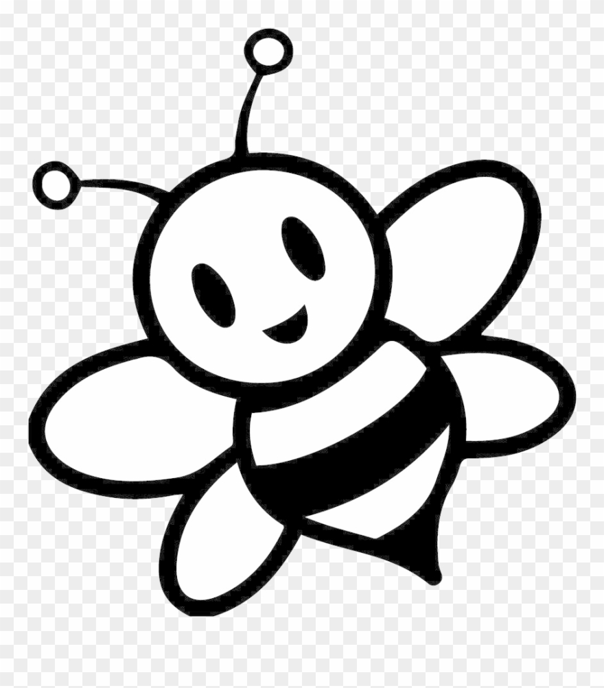 Cartoon honey bee clipart black and white jpg royalty free library Bee Clipart Black And White Wallpaper Hd Images Honey - Honey Bee ... jpg royalty free library