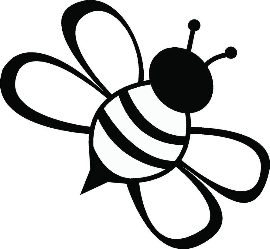 Bee clipart black and white free image transparent stock 35+ Bee Clipart Black And White | ClipartLook image transparent stock