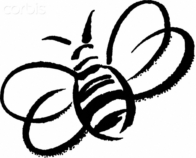 Bee clipart black and white with honeycomb graphic stock Bee black and white bumble bee cute clip art love bees cartoon more ... graphic stock