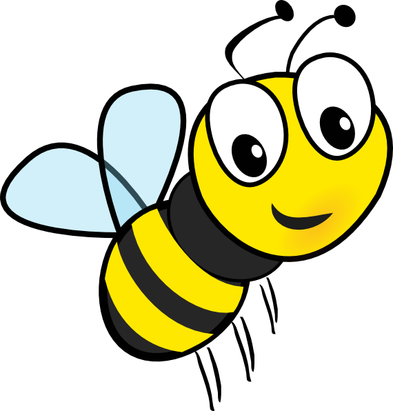 Bee clipart laughing svg library download clipart bee | Clipart svg library download