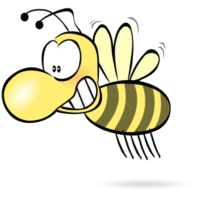 Bee clipart laughing vector free download Free Funny Clip Art Pictures - Clipartix vector free download